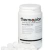 Dose mit Black&White Tabs Reinigungstabletten für Thermoplan Kaffeevollautomaten.