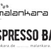 Label Malankara Espresso Bar auf Kaffeepackung